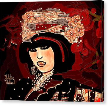 Vivian Canvas Print by Natalie Holland