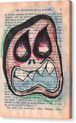Voix Monster Canvas Print