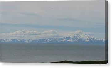 Volcano In Alaska Canvas Print