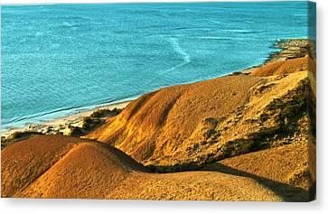 Voluptuous Shoreline Canvas Print