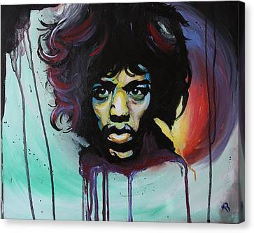 Voodoo Child Canvas Print by Matt Burke