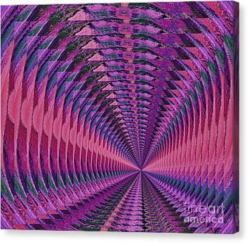 Vortex Canvas Print by Marsha Heiken