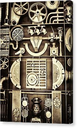 Vulcan Steel Steampunk Canvas Print