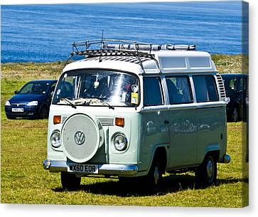 Vw Camper Canvas Print by Paul Howarth