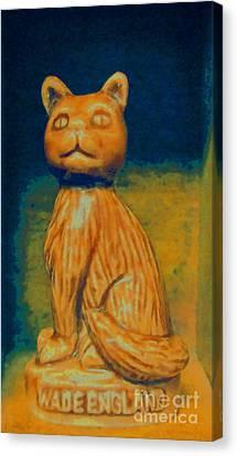 Feline Canvas Print - Wade England Cat by Patricia Januszkiewicz