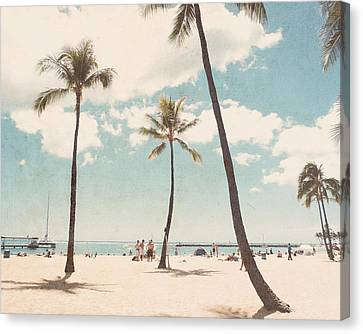 Waikiki Canvas Print by Nastasia Cook