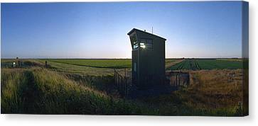 Wainfleet Control Tower Canvas Print by Jan W Faul