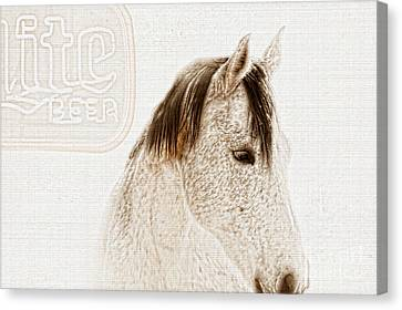 Waiting For A Beer Canvas Print by Betty LaRue