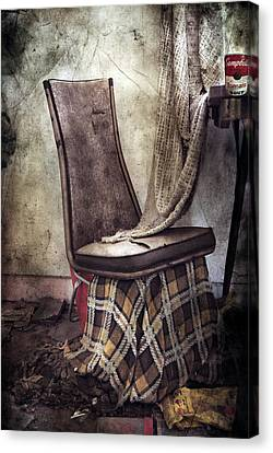 Waiting For Soup Canvas Print by Jerry Cordeiro