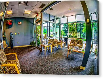 Waiting Room Canvas Print by Ken Beatty