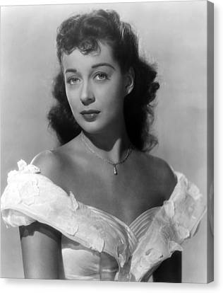 Wake Of The Red Witch, Gail Russell Canvas Print by Everett
