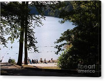 Walden Pond Canvas Print by John Small