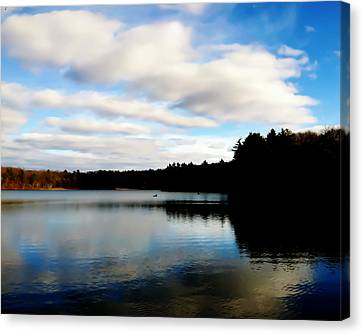 Walden Pond Reverie  Canvas Print by Frank Winters