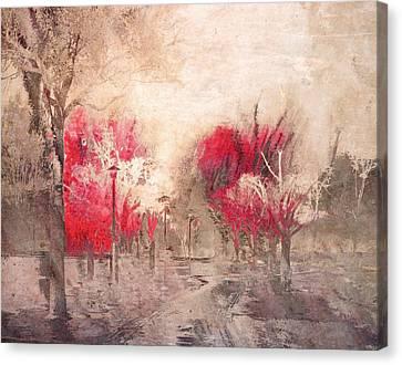 Walk Me Into Yesterday Canvas Print by Tara Turner