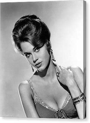 Walk On The Wild Side, Jane Fonda, 1962 Canvas Print
