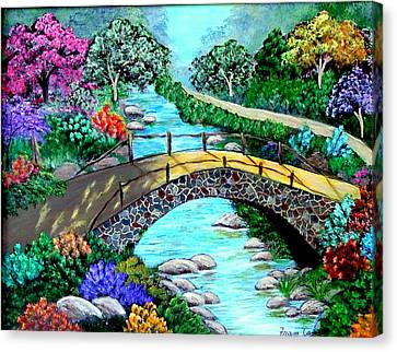 Walk With Me Canvas Print by Fram Cama