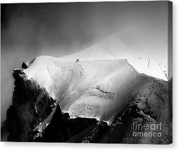Walkers - Ice Cliff II Canvas Print by Jack Torcello