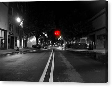 Walking After Midnight  Canvas Print