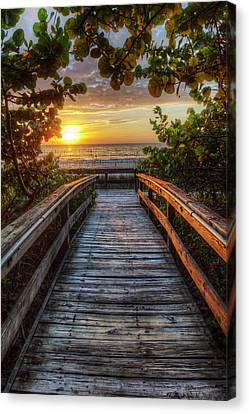 walkway to Paradise Canvas Print