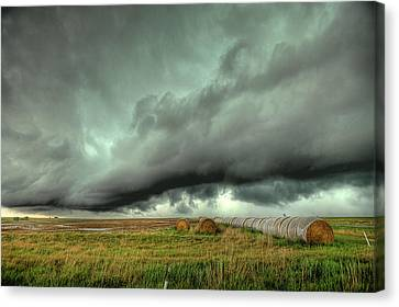 Wall Cloud Canvas Print by Thomas Zimmerman