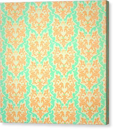 Wall Paper Canvas Print by Tom Gowanlock