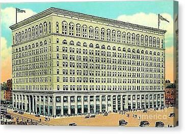 Wanamaker's Department Store In Philadelphia Pa 1910 Canvas Print