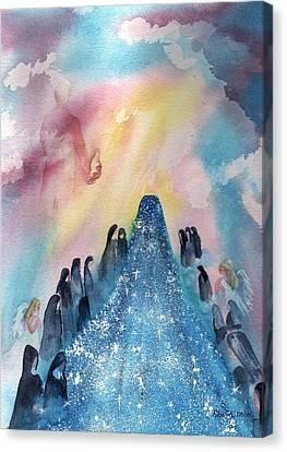 Wanda's Vision Canvas Print by Sharon Mick