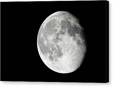 Waning Gibbous Canvas Print by Adam Pender