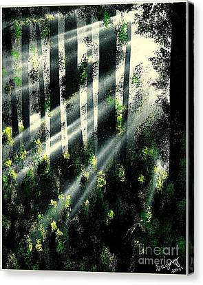 Waning Light Canvas Print