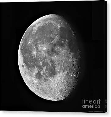 Waning Moon Canvas Print - Waning Moon by Robert Gendler