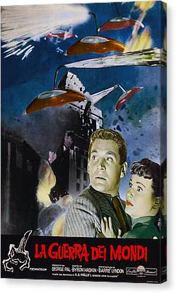 War Of The Worlds, Left To Right Gene Canvas Print