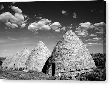 Ward Charcoal Ovens Canvas Print by Scott McGuire