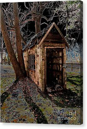 Warned Canvas Print by Cindy Roesinger