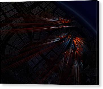 Warp 8 Canvas Print by Nafets Nuarb