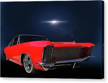 Warp Speed Canvas Print by Bill Dutting