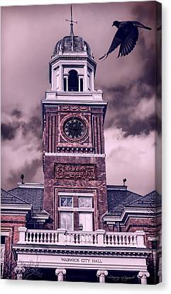 Warwick City Hall Canvas Print by Lourry Legarde