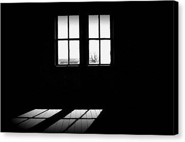 Was A Simple Life Canvas Print by Shirley Sirois