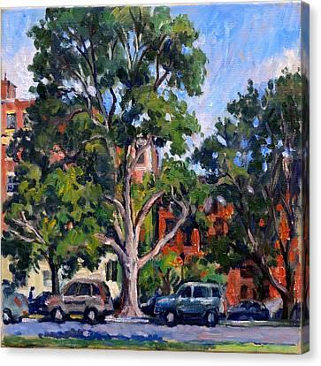 Washington Park Albany Canvas Print by Thor Wickstrom