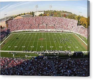 Washington State Martin Stadium  Canvas Print by Washington State University - Marketing and Communications