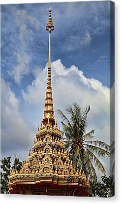 Wat Chalong 5 Canvas Print by Metro DC Photography
