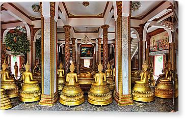 Wat Chalong Canvas Print by Metro DC Photography