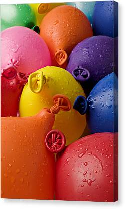 Water Balloons Canvas Print by Garry Gay