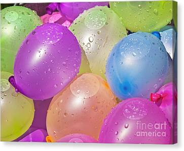 Water Balloons Canvas Print by Patrick M Lynch