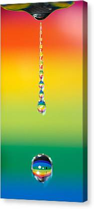 Water Dripping Canvas Print