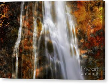 Water Flow Canvas Print by Keith Kapple