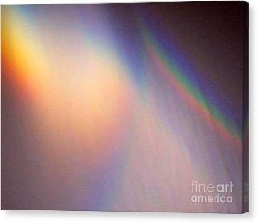 Water Rainbow Canvas Print by Phyllis Kaltenbach