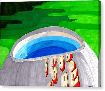 Water Vessel Canvas Print