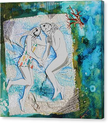 Waterbed Canvas Print