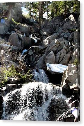Waterfall 5 Canvas Print