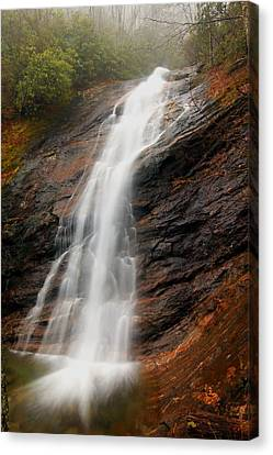 Canvas Print featuring the photograph Waterfall In Wash Hollow by Doug McPherson